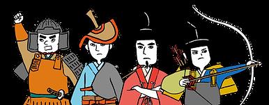 坂東武士キャラクター