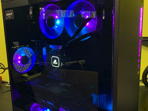 Built for Dan, to play Cyberpunk, VR. ID-Z1829.