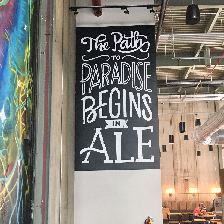 The Path to Paradise Begins in Ale