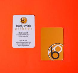 Bodysmith Pilates Business Card