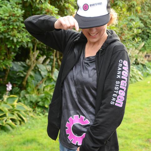Crank Sisters Logo Gear