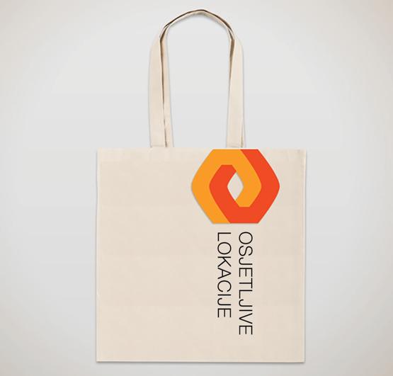 Sensitive Locations Logo Tote Bag