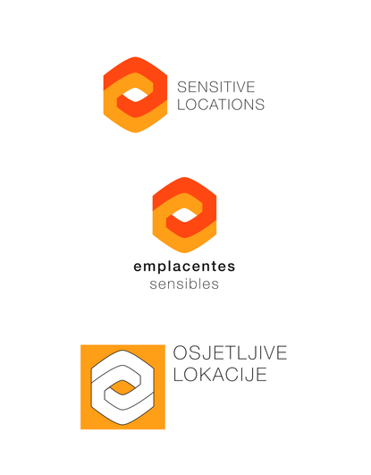 Sensitive Locations Optional Language Logos