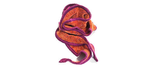 One Scarf Curl - Paprika