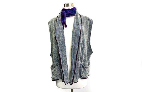 Vest w/ Shawl Collar