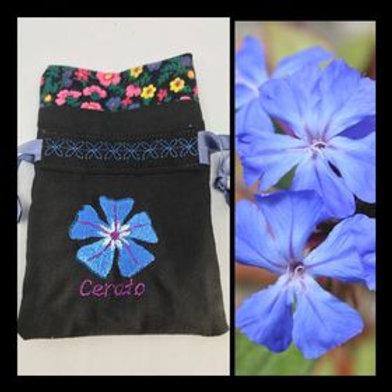 """""""Cerato"""" Flower drawstring bag"""