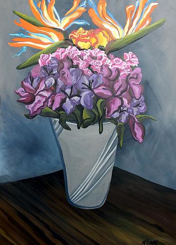 Print of Flowers 2