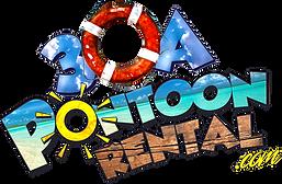 pontoon rental 30a santa rosa beach logo