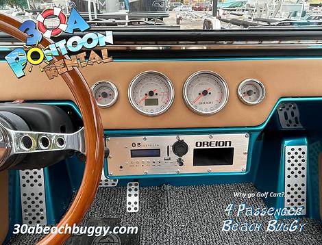 beach buggy rentals 30a pontoon rental s