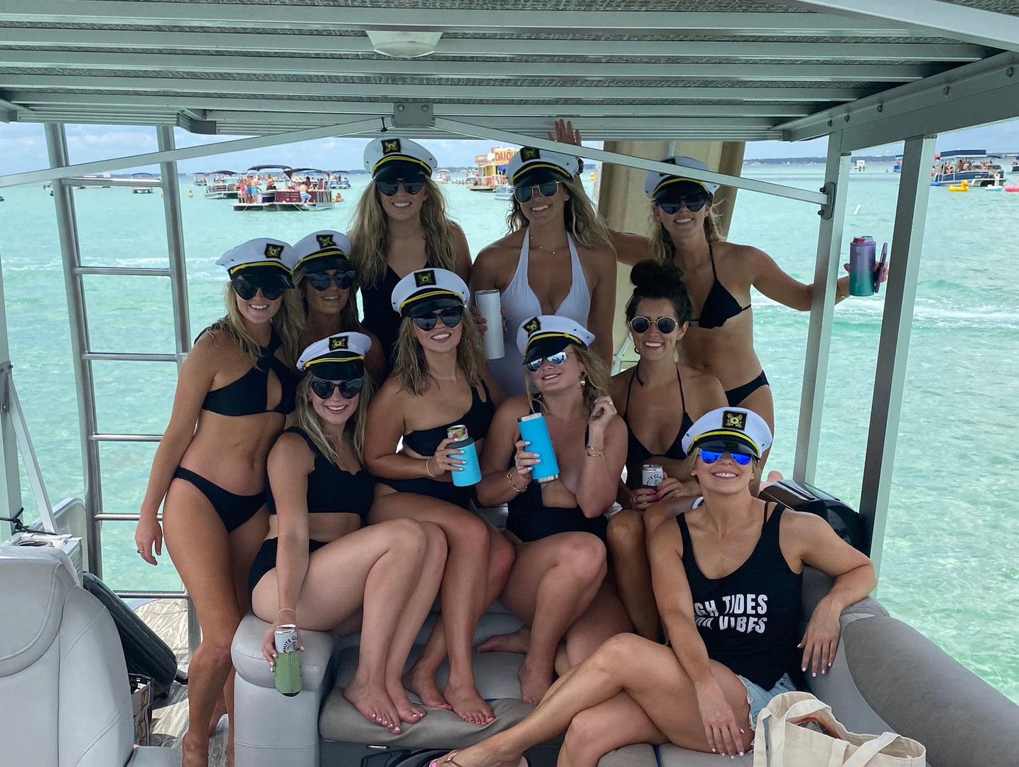 30a pontoon rental girls bachelorrette p