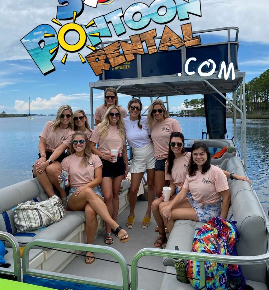 Pontoon rental rosemary beach seaside gr