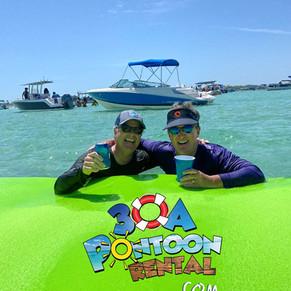 pontoon rental 30a vacation rental crab island.jpg