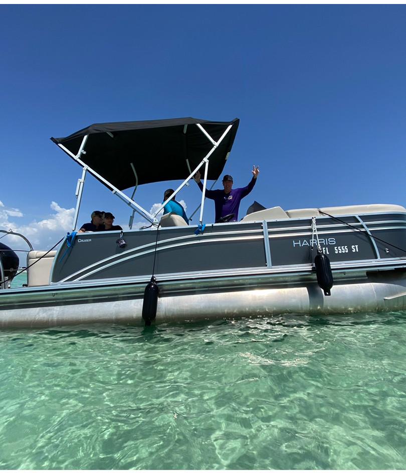 pontoon rental rosemary beach seaside ha