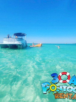 pontoon rental crab island santa rosa be