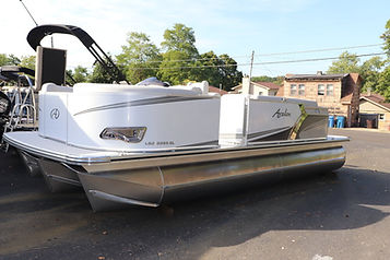 avalon white pontoon rental santa rosa b