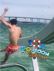 pontoon rental crab island double fun sl