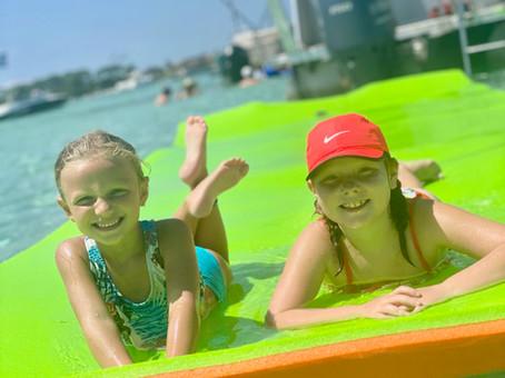 floating pad pontoon rental santa rosa b