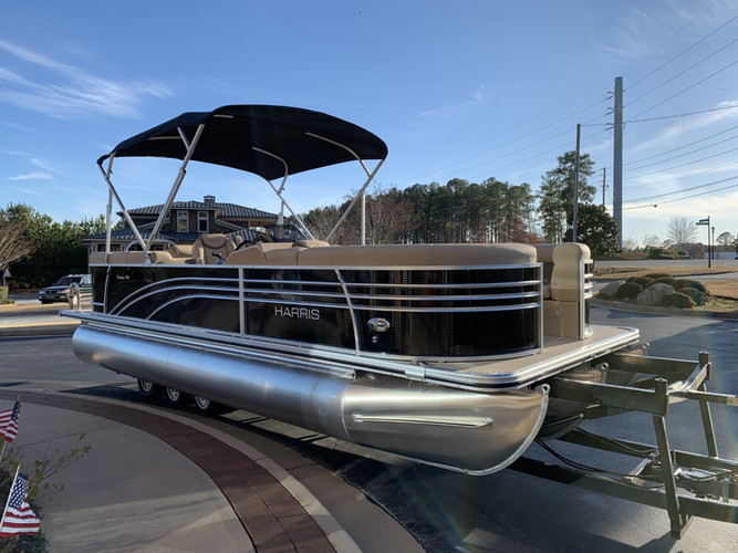 Harris tri-toon pontoon rental santa ros