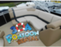 pontoon rental rosemary beach pontoon re