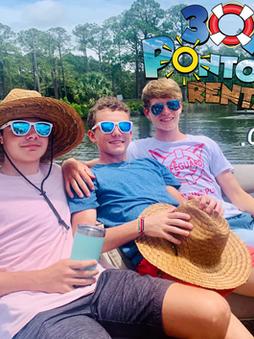 pontoon rental rosemary beach good frien