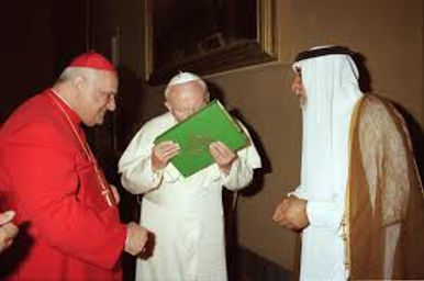 pope kisses quran roman catholicism.jpg