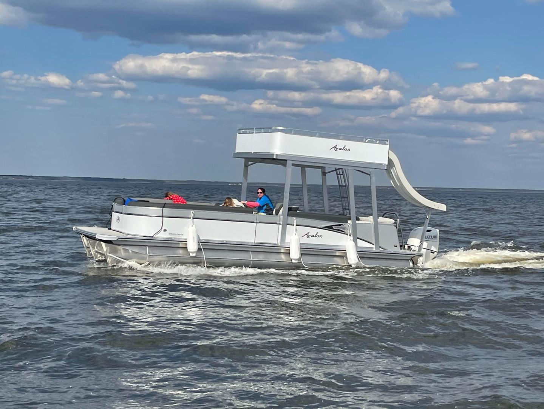 pontoon rental rosemary beach double dec