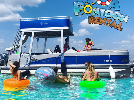 Pontoon Rental Boats- A great way to have fun on 30a