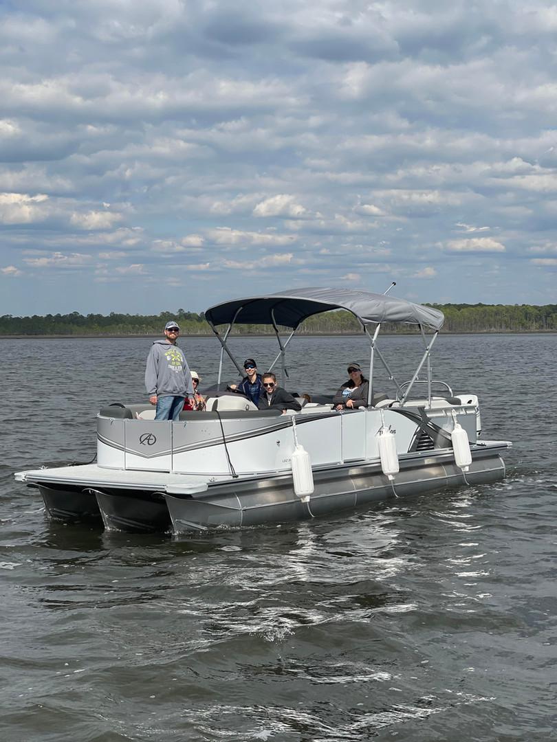 pontoon rental seacrest beach rosemary b