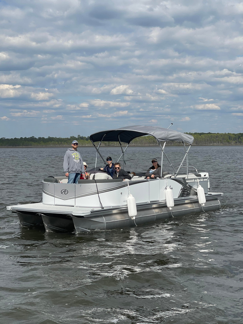 pontoon rental seacrest beach rosemary b