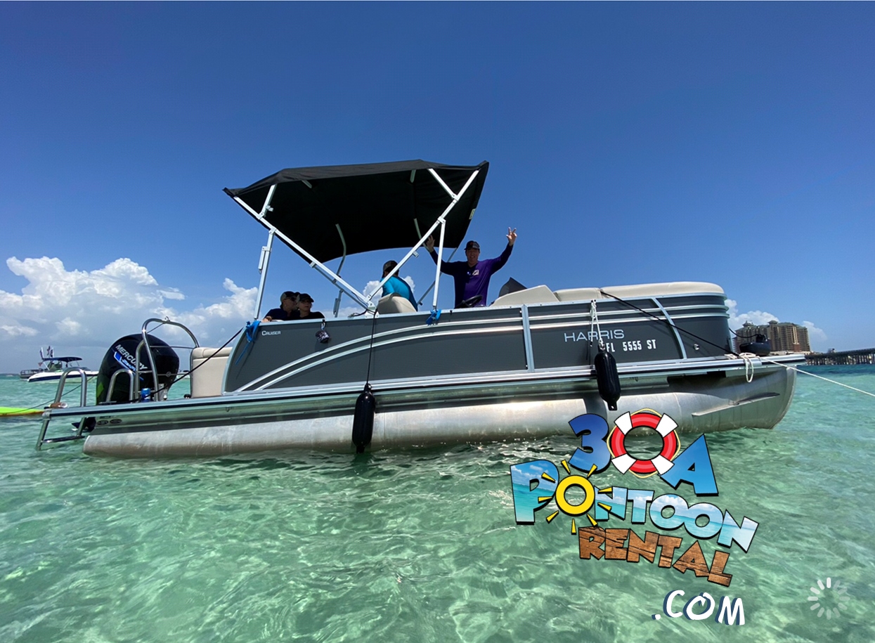 pontoon rental seaside florida santa ros