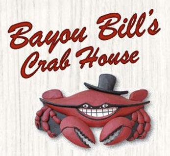 Bayou Bills Logo seafood santa rosa beac