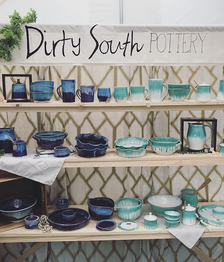 Woodland Art Fair - Dirty South Pottery