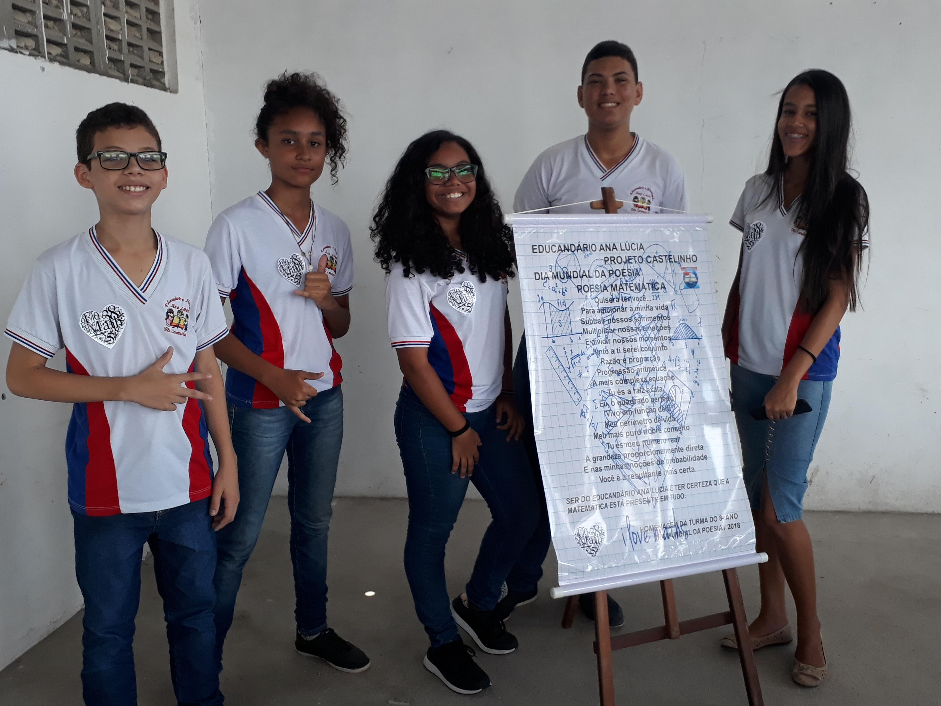 Matemática - Dia Mundial da Poesia