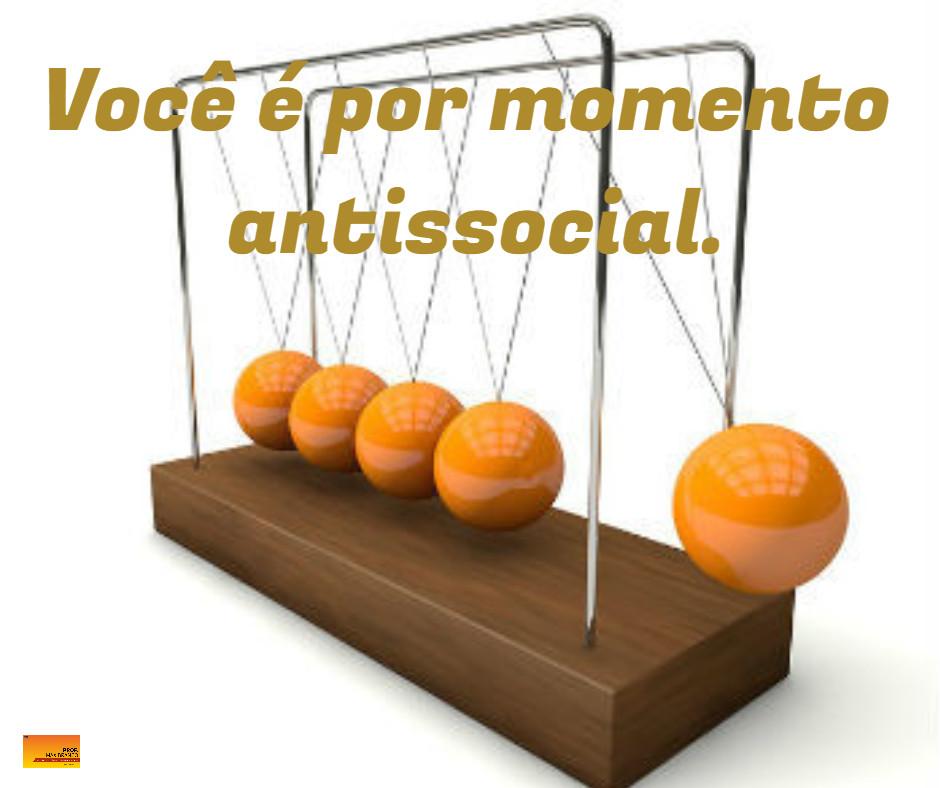 Pêndulo de Newton antissocial