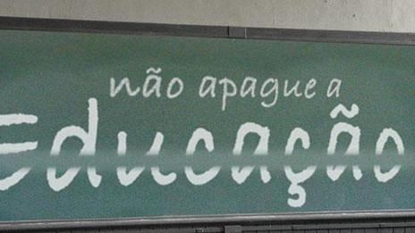 Falta de educação! Escolar ou familiar?