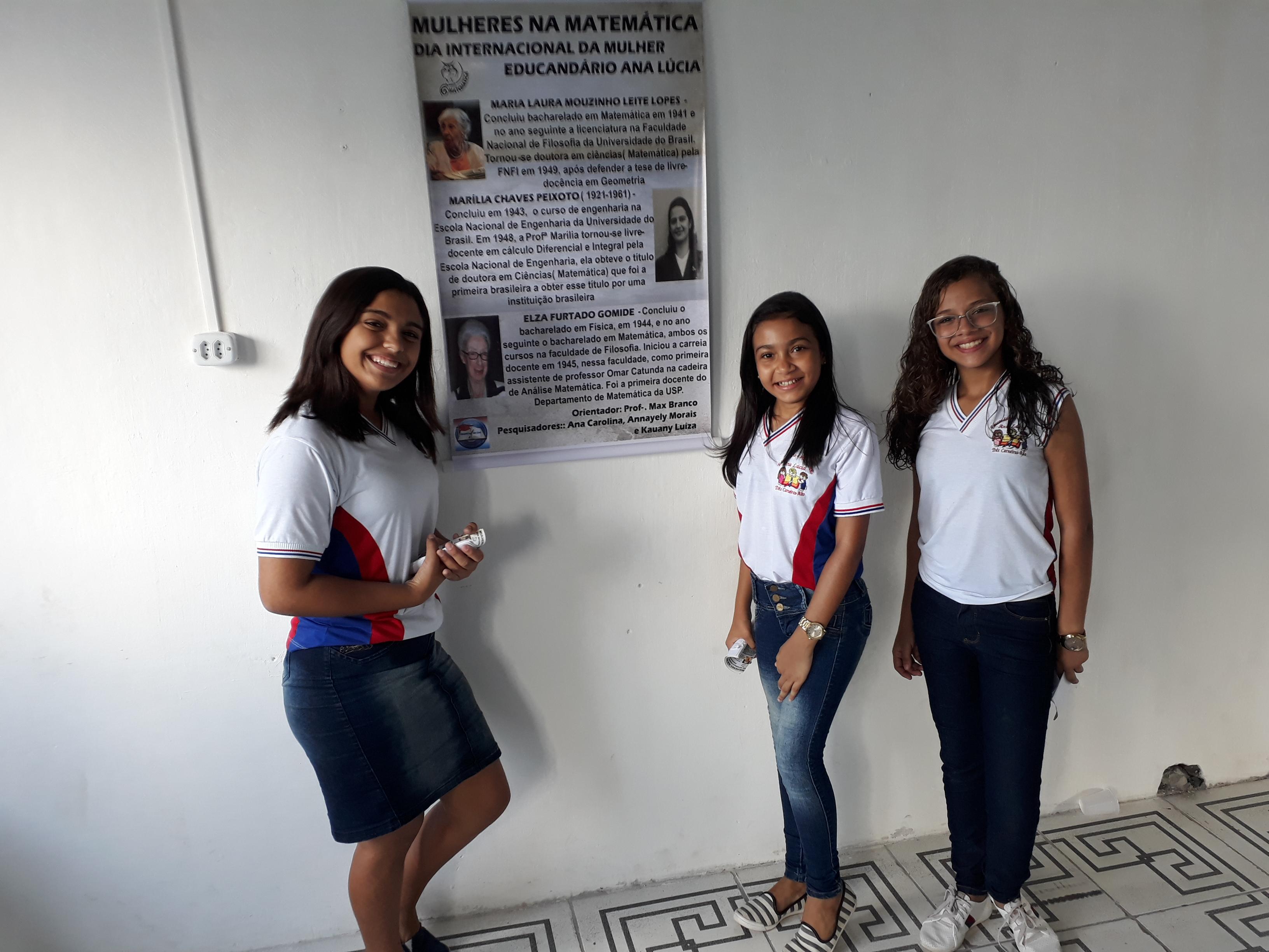 Projeto Mulheres na Matemática