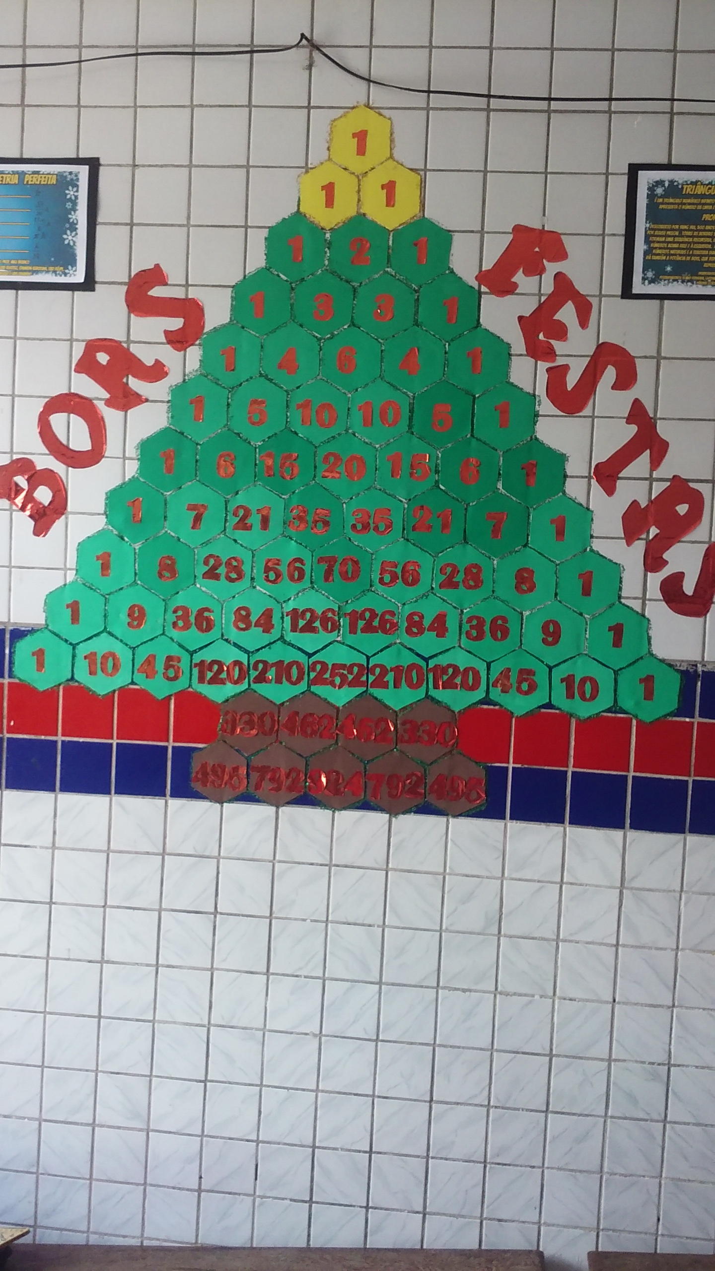 Árvore Natalina Matemática