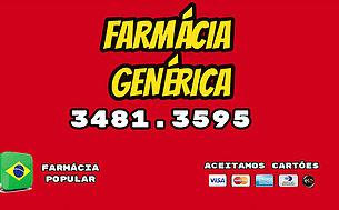 FARMÁCIA GENÉRICA