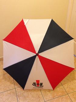 Parapluies panneaux bleu/blanc/rouge