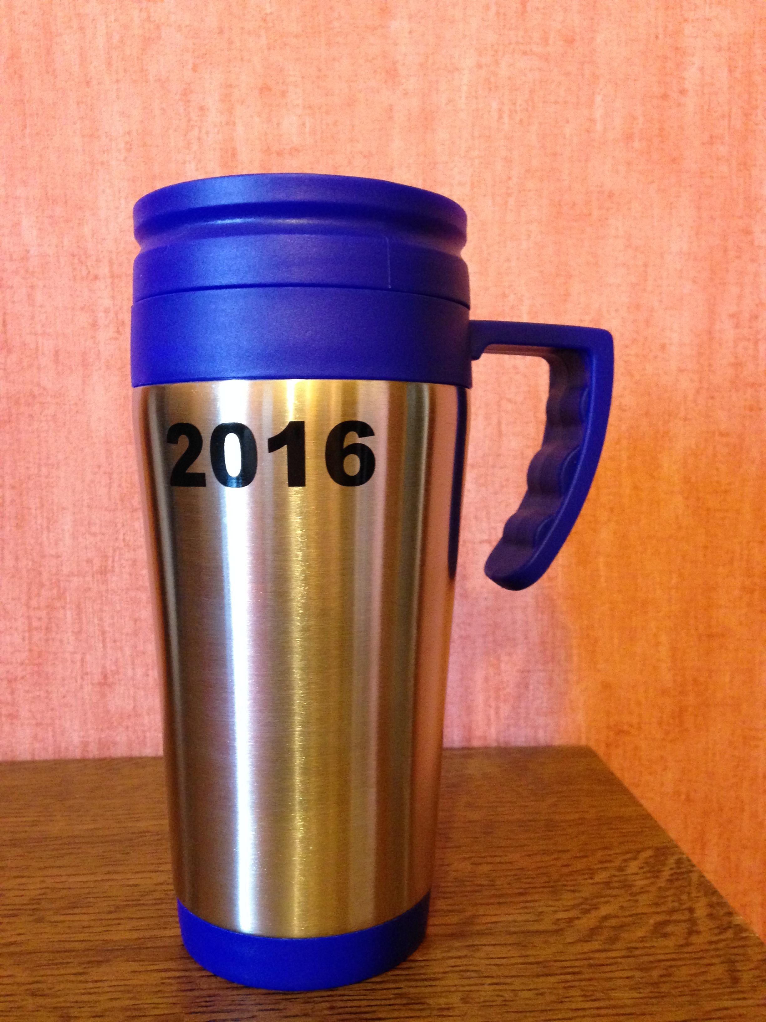 Mugs isothermes couleur bleu