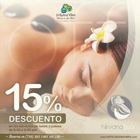 NIRVANA SPA 15% off