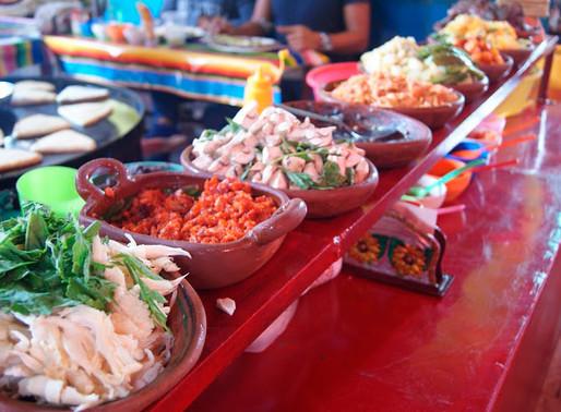El mercado de Tepoztlán: una pequeña muestra de la gastronomía y la algarabía mexicana