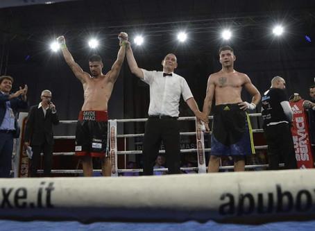 Davide Faraci ist neuer italienischer Meister im Halbschwergewicht!