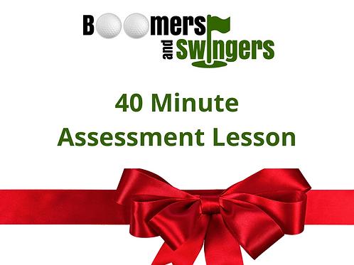 40 Minute Assessment Lesson - Christmas Voucher