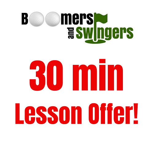 30 minute lesson offer