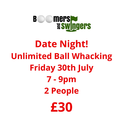 Date Night - Friday 30th July - £30