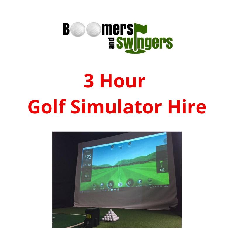 Golf Simulator - 3 hours