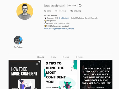 HOW TO CREATE A KILLER INSTAGRAM PAGE FOR YOUR BUSINESS!