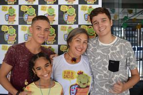 Participantes do The Voice Kids Visitam Sede do GACC-RN Para Conhecer o Projeto Flor de Cactos