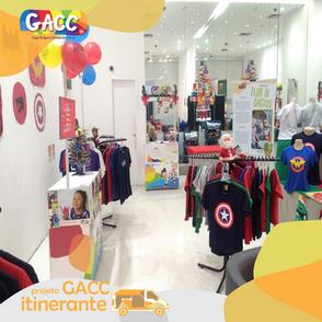 GACC Itinerante realiza workshops e vendas para arrecadar fundos